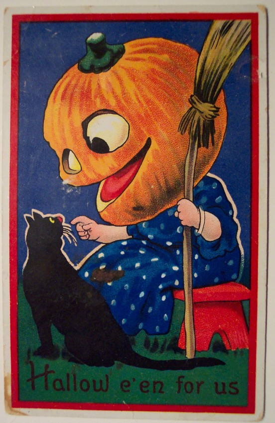 Ilustraciones Halloween antiguas 129