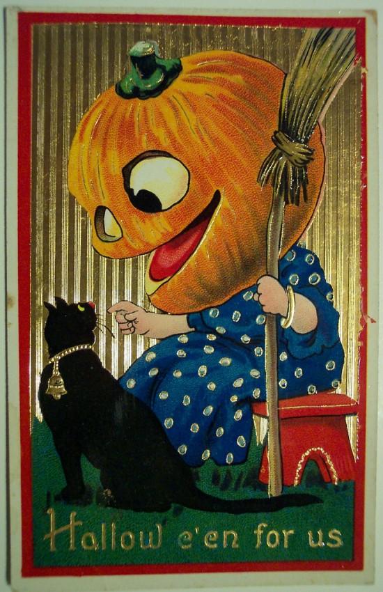 Ilustraciones Halloween antiguas 130