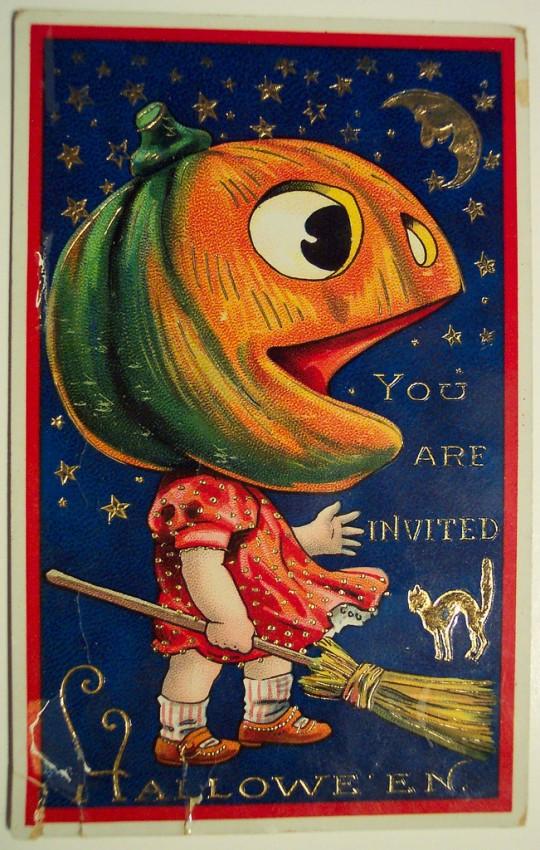 Ilustraciones Halloween antiguas 131