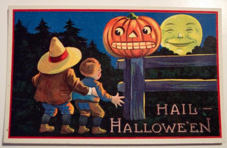 Ilustraciones Halloween antiguas 132