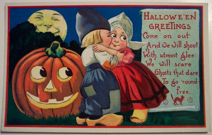 Ilustraciones Halloween antiguas 133