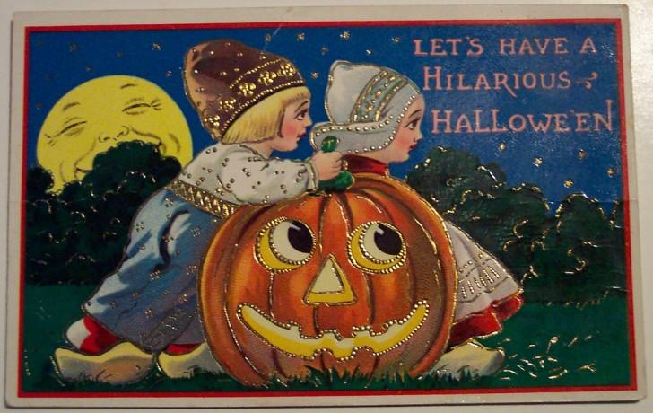 Ilustraciones Halloween antiguas 134