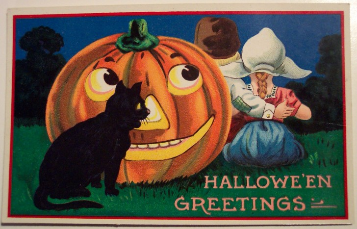 Ilustraciones Halloween antiguas 135