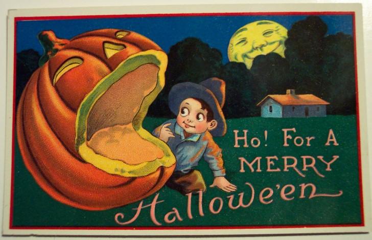 Ilustraciones Halloween antiguas 136