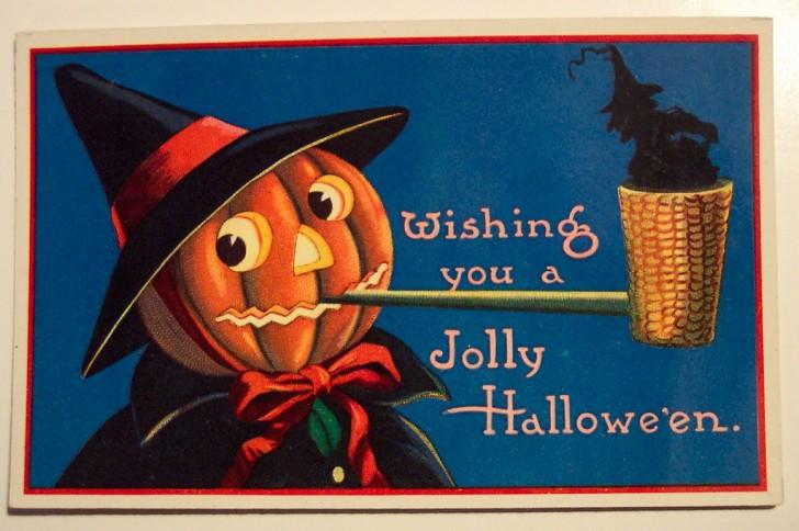 Ilustraciones Halloween antiguas 137