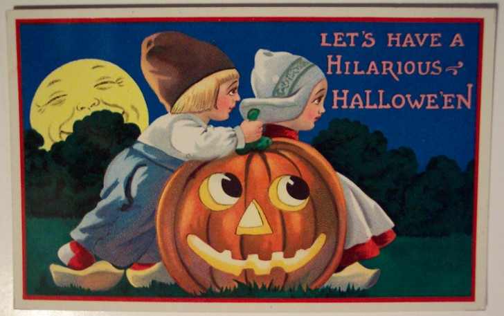 Ilustraciones Halloween antiguas 138