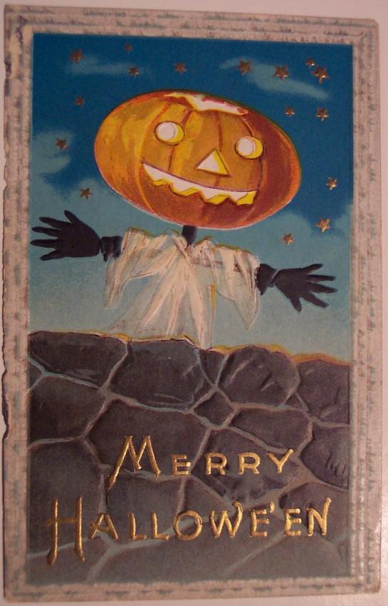 Ilustraciones Halloween antiguas 139