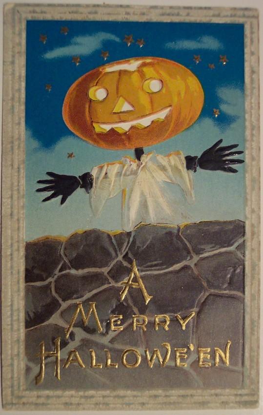 Ilustraciones Halloween antiguas 140