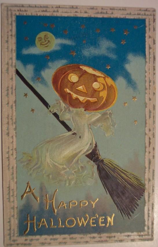 Ilustraciones Halloween antiguas 142