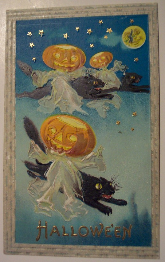 Ilustraciones Halloween antiguas 143