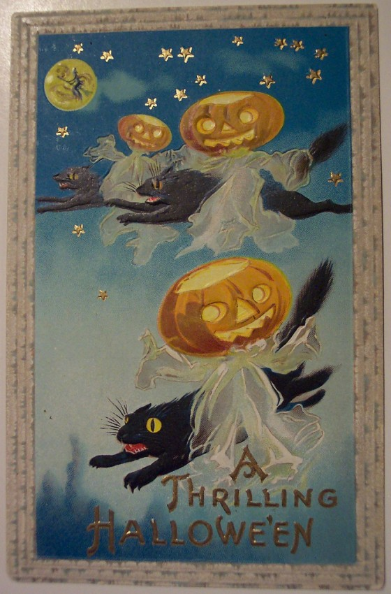 Ilustraciones Halloween antiguas 144