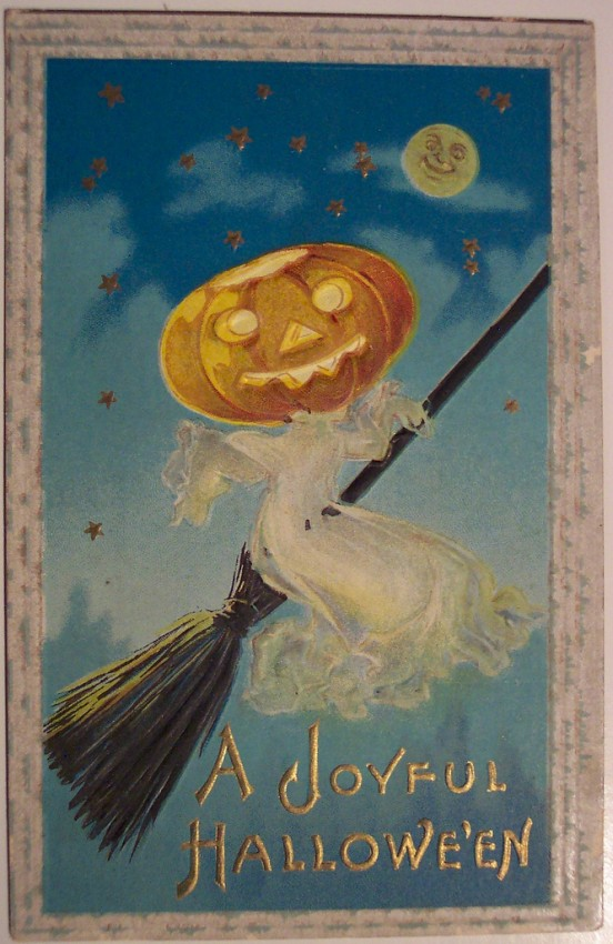 Ilustraciones Halloween antiguas 145