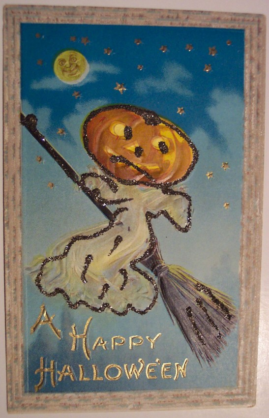 Ilustraciones Halloween antiguas 146
