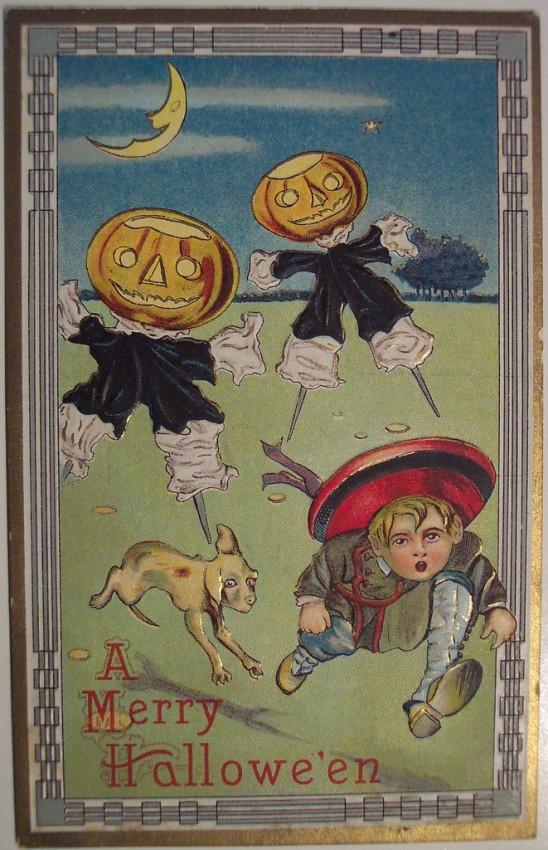 Ilustraciones Halloween antiguas 148