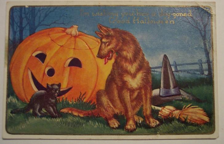 Ilustraciones Halloween retro 002