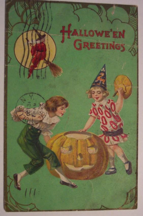 Ilustraciones Halloween retro 005