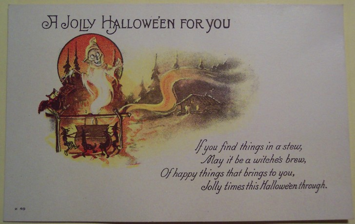 Ilustraciones Halloween retro 016
