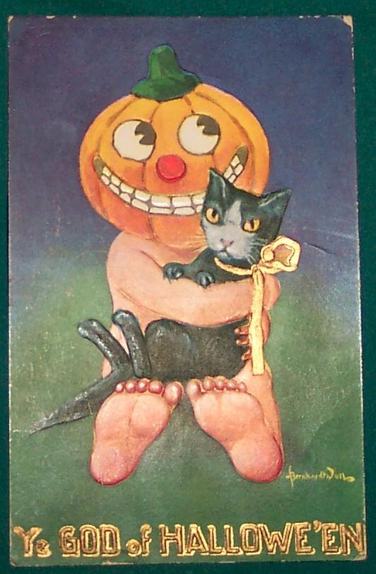 Ilustraciones Halloween retro 018