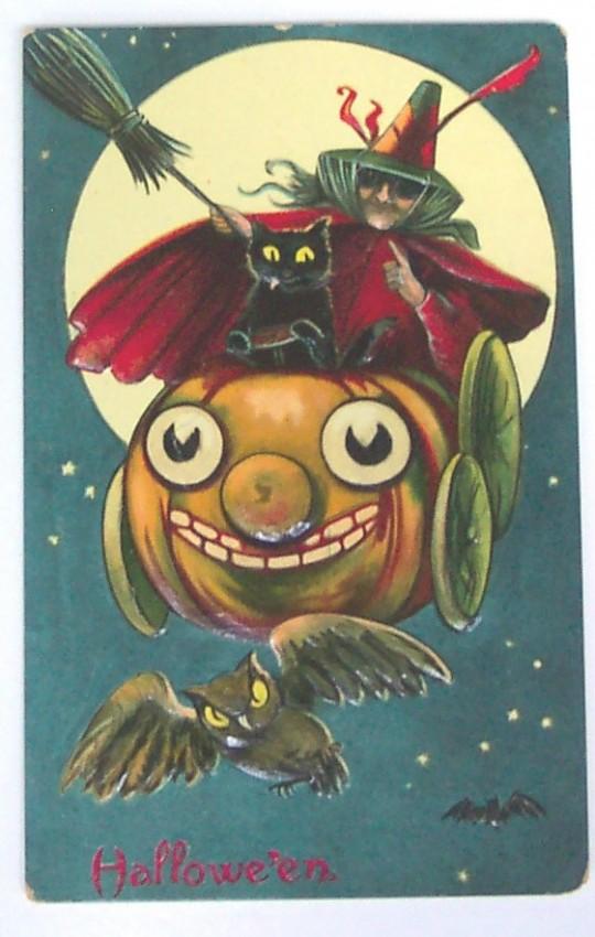 Ilustraciones Halloween retro 019
