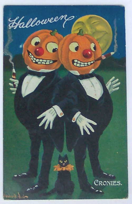 Ilustraciones Halloween retro 024