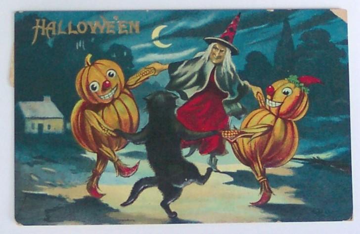 Ilustraciones Halloween retro 026