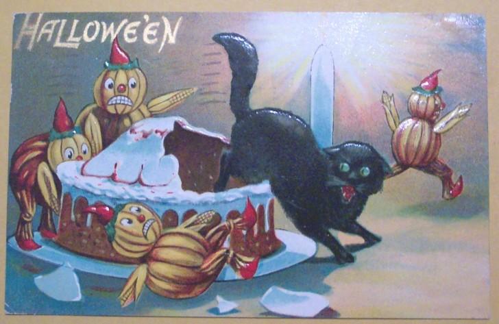 Ilustraciones Halloween retro 028