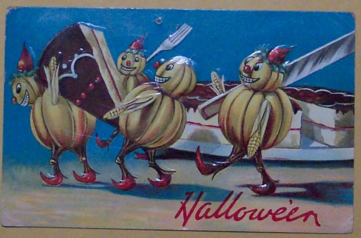 Ilustraciones Halloween retro 029