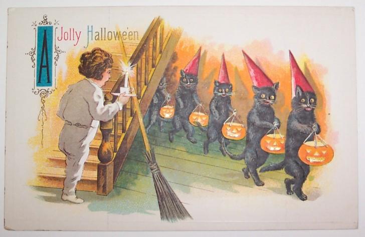 Ilustraciones Halloween retro 034