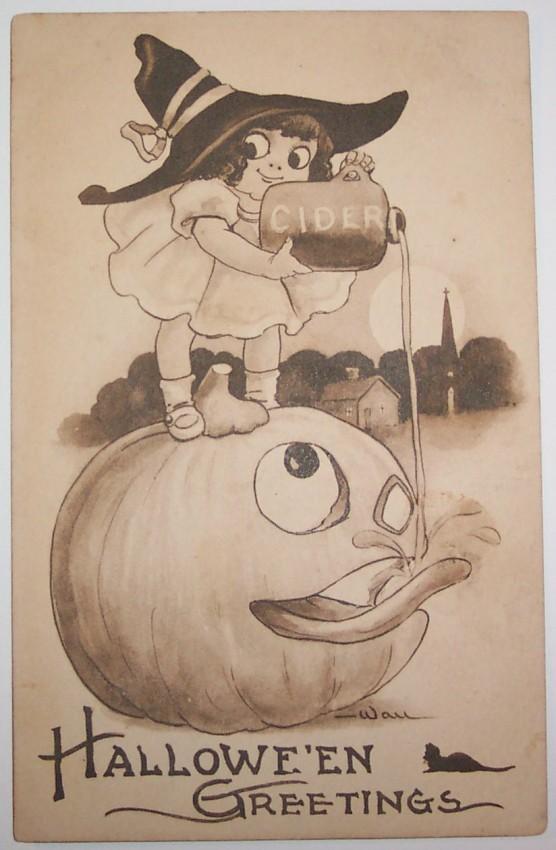 Ilustraciones Halloween retro 035