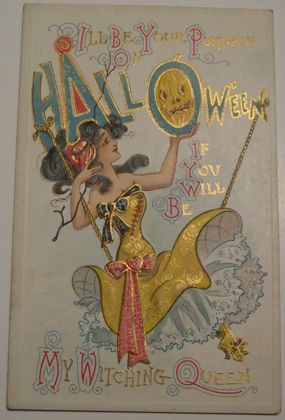 Ilustraciones Halloween retro 044