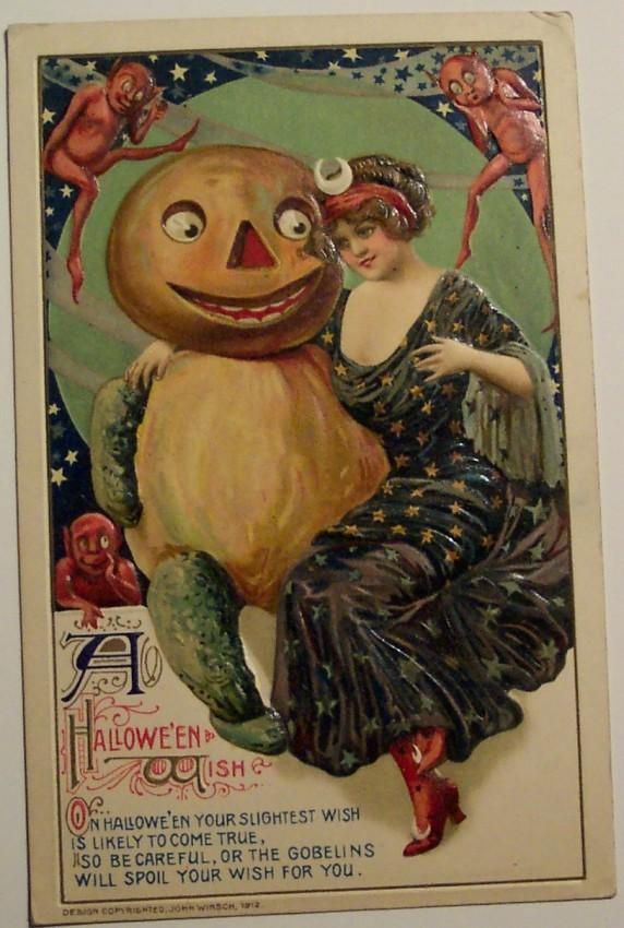 Ilustraciones Halloween retro 047