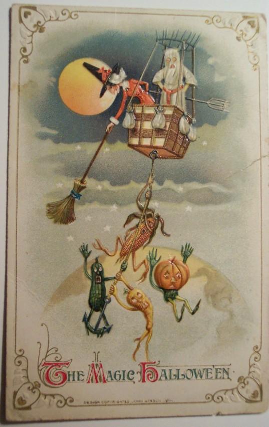 Ilustraciones Halloween retro 052