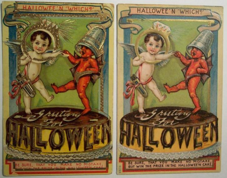 Ilustraciones Halloween retro 056