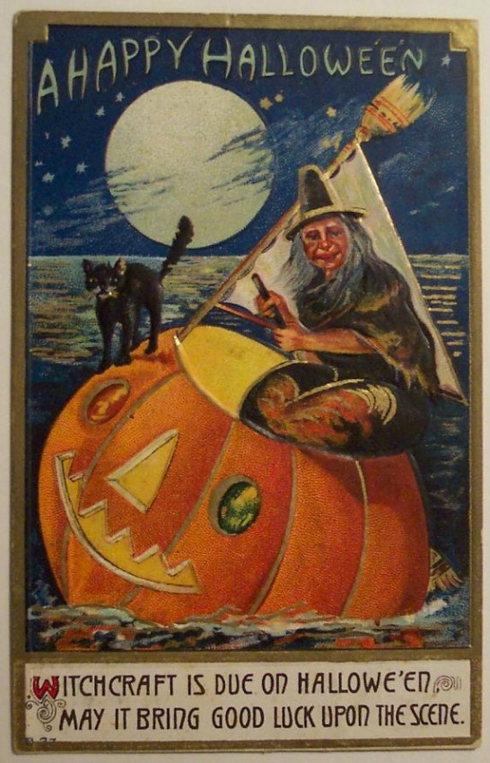 Ilustraciones Halloween retro 057