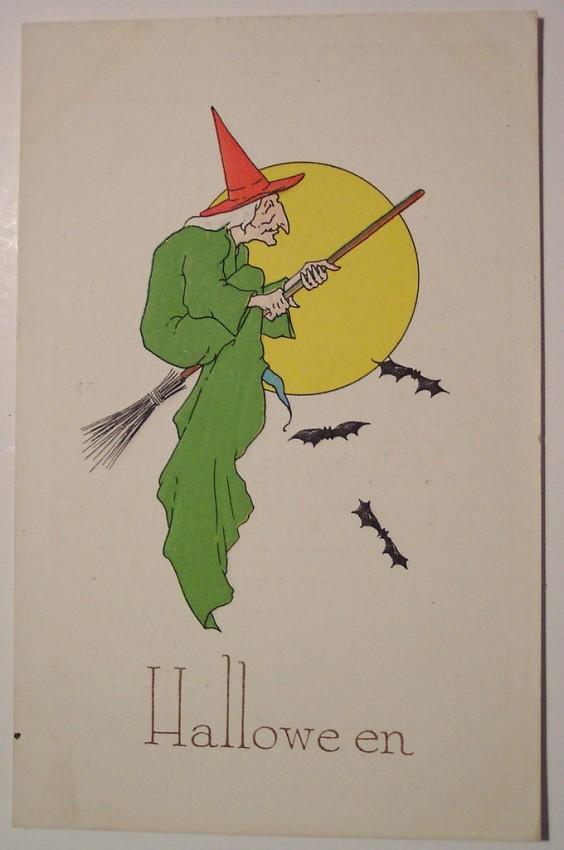 Ilustraciones Halloween retro 060