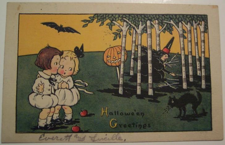 Ilustraciones Halloween retro 063