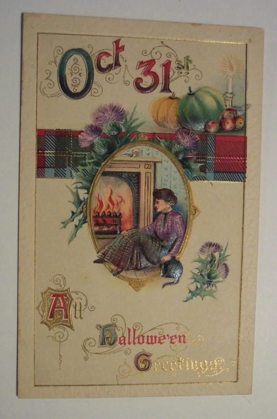 Ilustraciones Halloween retro 067