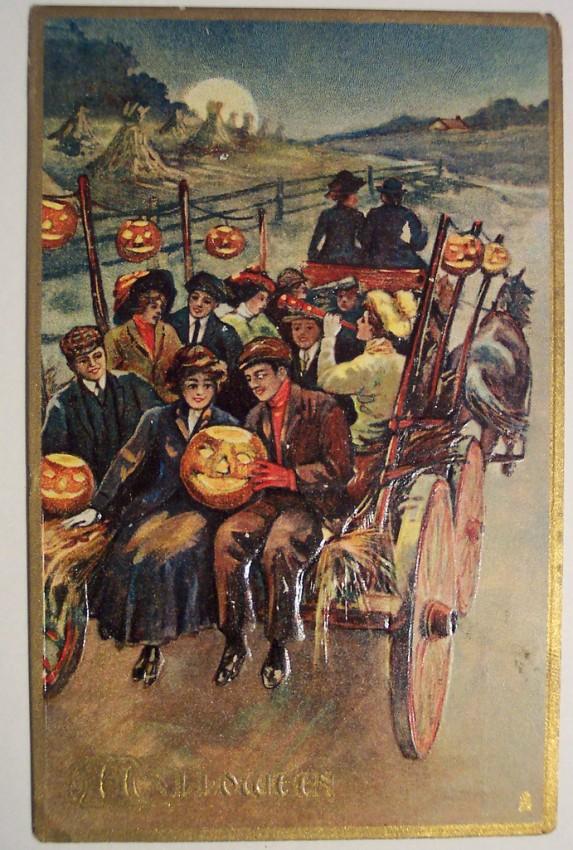 Ilustraciones Halloween retro 068