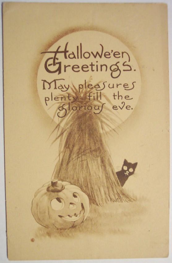 Ilustraciones Halloween retro 069