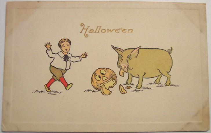 Ilustraciones Halloween retro 071