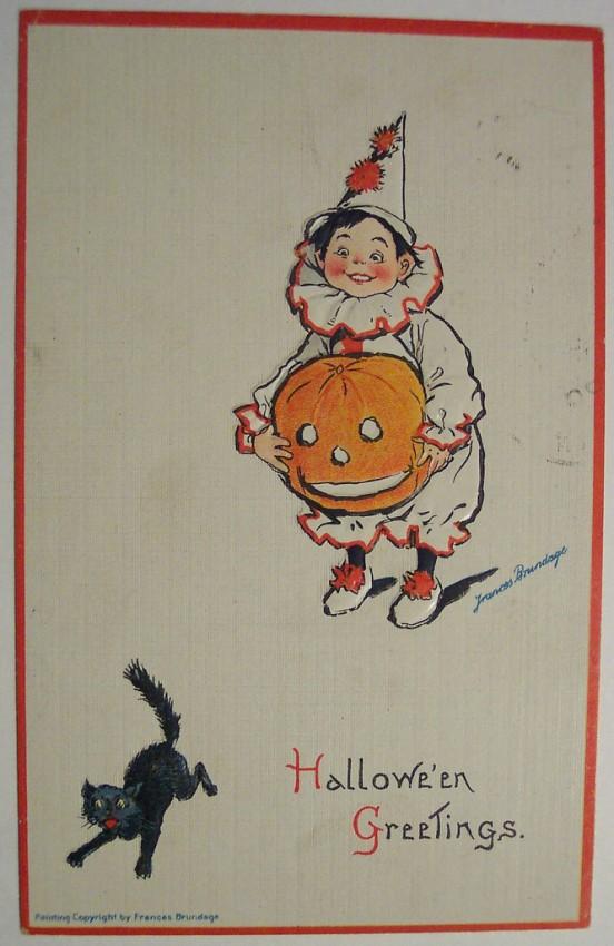 Ilustraciones Halloween retro 079