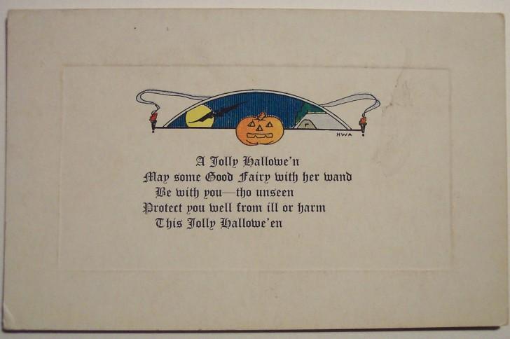 Ilustraciones Halloween retro 081