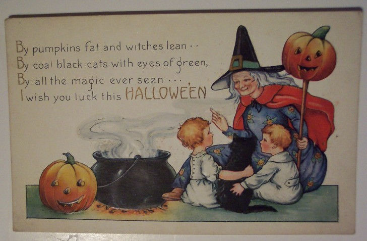 Ilustraciones Halloween retro 086
