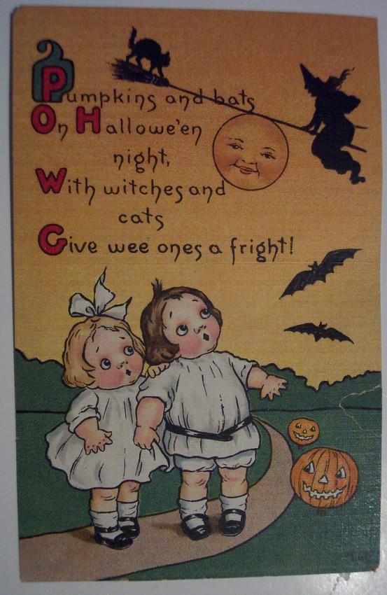 Ilustraciones Halloween retro 088