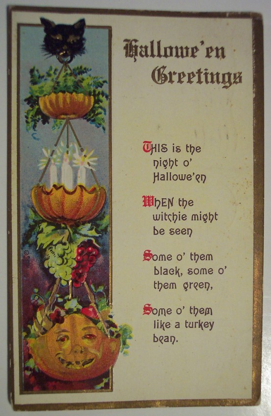 Ilustraciones Halloween retro 090