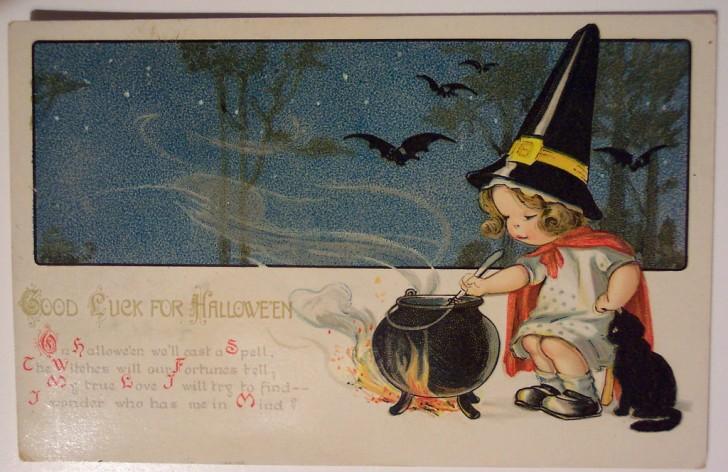 Ilustraciones Halloween retro 091