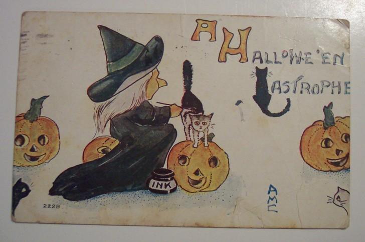 Ilustraciones Halloween retro 092