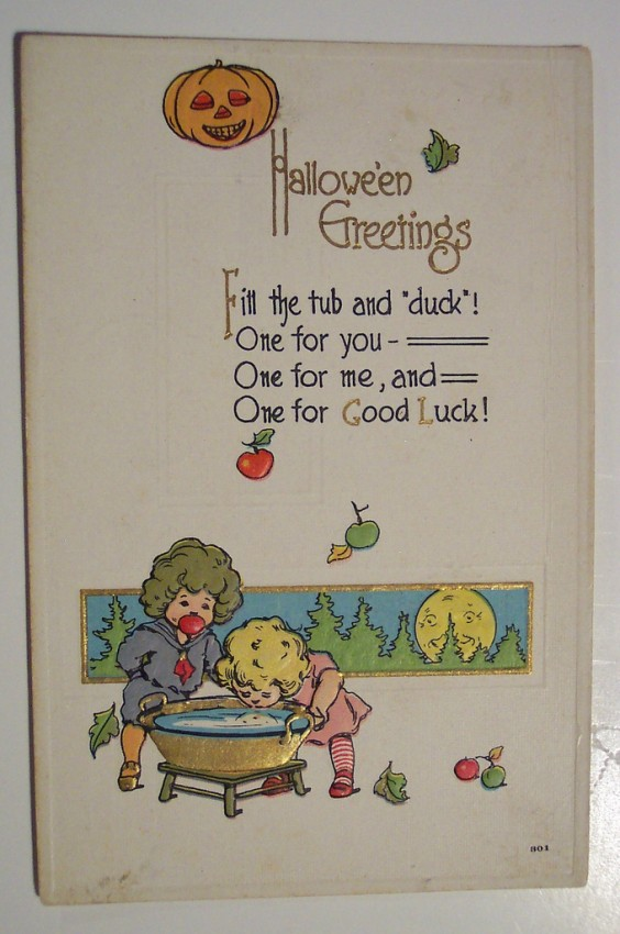 Ilustraciones Halloween retro 094
