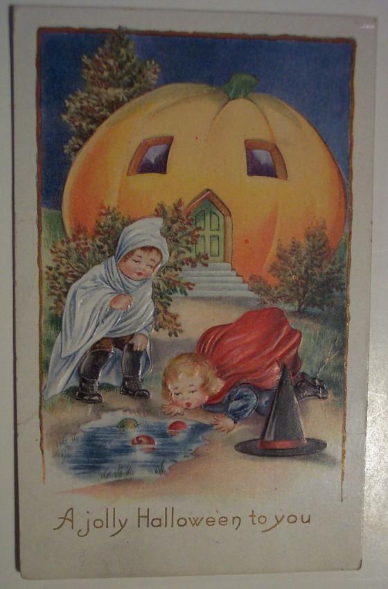 Ilustraciones Halloween retro 095