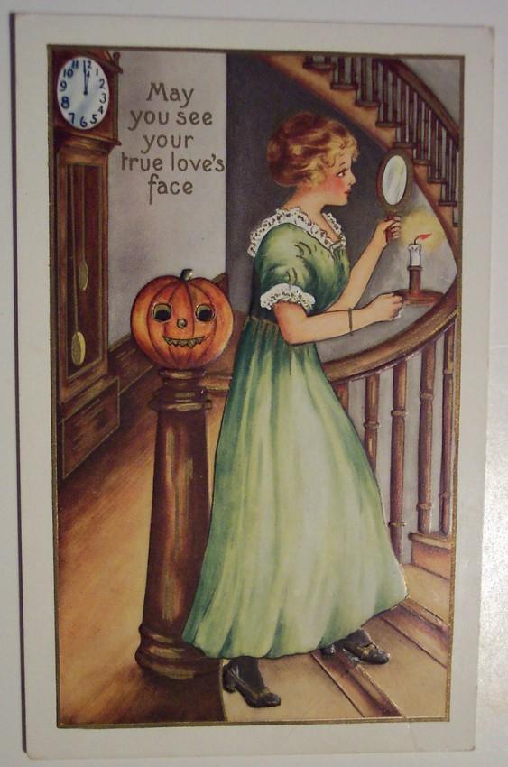 Ilustraciones Halloween retro 096